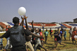 Launch of 'Sport for Peace' Soccer Tournament in Liberia 4.681027