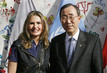 Secretary-General Meets UNDP Goodwill Ambassador in Egypt 9.408298