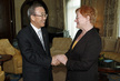 Secretary-General Meets President of Finland 1.4459534