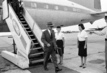 UN Under-Secretary Ralph Bunche Arrives in Leopoldville 1.5691366