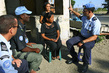 UN Police Officers Visit Camp in Dili 4.578306