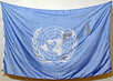 UN Flag Recovered From Debris of Bombed Baghdad UN Office 1.0