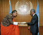 New Permanent Representative of Bhutan Presents Credentials 2.5860186