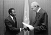 Ambassador Amara Essy of Ivory Coast Presents Credentials 2.4745965