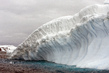 View of Collins Glacier in Antarctica 8.209814