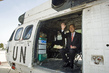 Secretary-General aboard UN Helicopter 1.0