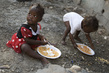 MINUSTAH Serves Meals in Haiti Slum for Anti-Gun Campaign 6.6055303