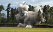 Landmine Explotion during UNMIN Training 12.096134