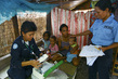 UN Police Officer Visits IDPs in Timor-Leste 3.8192594