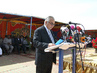 Special Representative for Sudan Addresses UNAMID Handover Ceremony 4.436082