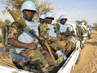 UNAMID Personnel Guards Supply Convoy 4.436082