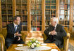 Secretary-General Meets former President of Slovenia 1.8188586