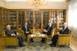 Secretary-General Meets Slovenia Dignitaries 1.9580916