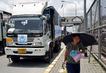 UNHCR Relief Truck Crosses Myanmar/Thailand Border 0.5495863