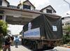 UNHCR Relief Truck Crosses Mynmar/Thailand Border 0.5495863