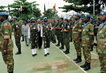 Secretary-General Reviews United Nations Troops at UNAVEM III Headquarters 4.6741996