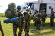 MONUC Peacekeepers and FARDC Board en route to Patrol Area 4.524885