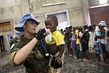 MINUSTAH Peacekeepers Gives Young Flood Victim Water 1.0