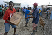 WFP Distributes Emergency Rations to Hurrican Victims 7.54397
