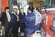 Secretary-General Visits Firehouse to Offer Solidarity and Support 8.815537