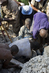 UN Peacekeepers Rescue School Collapse Survivors 8.009379
