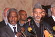Secretary-General Holds Press Conference with Chairman of the Interm Administration in Afghanistan 2.632949