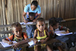 Timor-Leste Village Children Attend School 4.7988987