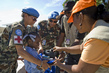 MINUSTAH Peacekeepers Distribute School Supplies to Children 7.968431