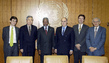Secretary-General Meets with Heads of Main Organs of United Nations