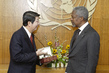 Secretary-General Meets with Minister in Charge of Office of Council of Ministers of Cambodia