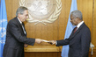New Permanent Representative of Colombia to UN Presents Credentials