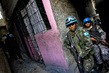 MINUSTAH Peacekeepers on Street Patrol 8.009379
