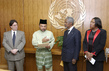 Secretary-General Meets Representatives of Malaysia, Cuba and South Africa 2.6096005