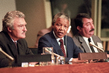 Nelson Mandela Addresses Press Conference Sponsored by Special Committee against Apartheid 13.431599
