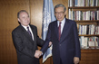 Secretary-General Meets with Permanent Representative of Tajikistan