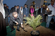 Secretary-General Plants Tree at UN-HABITAT Office Opening 12.508708