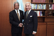 Secretary-General Meets Former Chef de Cabinet 2.4449966