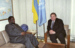 President of 52nd Session of General Assembly Meets with Foreign Minister of Namibia 0.9622817