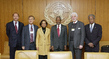 Secretary-General Meets with Executive Director of UNAIDS and Regional Special Envoys for HIV/AIDS
