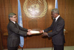 New Permanent Representative of Modova Presents Credentials