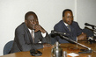 Minister of Justice for Republic of Congo Holds Press Conference 2.4937117