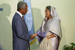 Secretary-General Meets with Prime Minister of Bangladesh