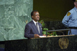 President of Zambia Addresses Millennium Summit