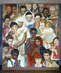"Norman Rockwell Mosaic ""The Golden Rule"" 10.956385"