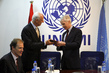 UNAMI Head Meets U.S. Ambassador to Iraq 7.8567924