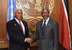 Secretary-General Meets with President of the Republic of Trinidad and Tobago 2.3897977