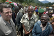 Head of MONUC Meets IDP Camp Residents 4.506836