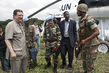 Head of MONUC Visits Pinga IDP Camp 4.506836