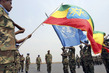 Change of Ethiopian Peacekeeping Contingent in Burundi 8.138426