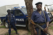 Police Nationale Congolaise Officers on Patrol 4.3454447